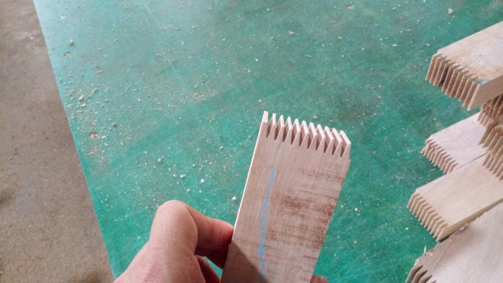 gỗ cao su ghép thanh