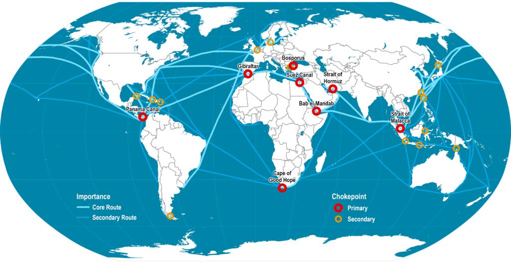 mạng lưới hàng hải quốc tế