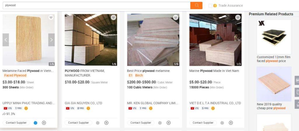 Các doanh nghiệp Việt Nam đăng ký gian hàng trên Alibaba