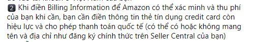 Thẻ tín dụng đăng ký Amazon