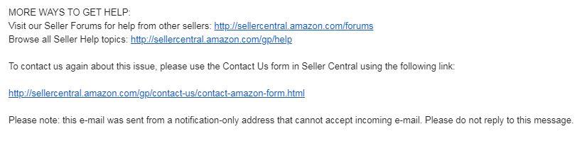 Các cách liện hệ nhận trợ giúp bước 1 từ Amazon